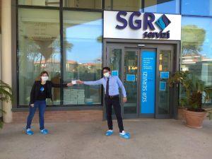 Consegna Mascherine SGR